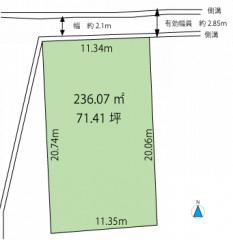 地形図(西五城高須賀).gif