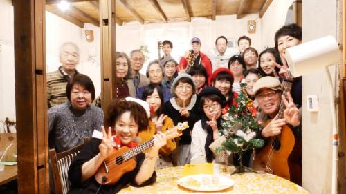 12月だよ!cafe toneクリスマス オープンマイク(*´∇`)ノシ ♬♪♩