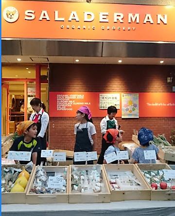 札幌オーガニック野菜・サラダ―マンにてGF・DFケーキ販売