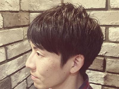 二俣川メンズ専門美容院バルビエーレスタイル | プチツーブロックビジネスフォワード