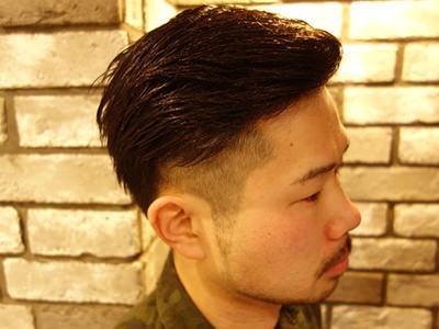 二俣川メンズ専門美容院バルビエーレスタイル | 震災刈りツーブロック