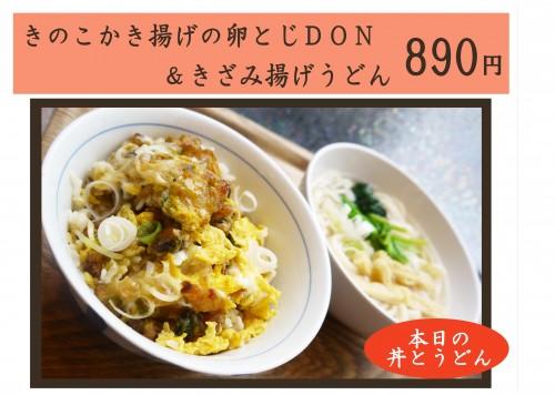 きのこかき揚げの卵とじDON&うどん.jpg
