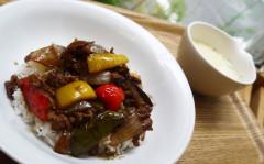 ●彩り野菜のバルサミコ酢豚DON.jpg