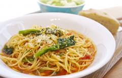 ●フレッシュ菜の花のアンチョビトマトスパゲティ.jpg