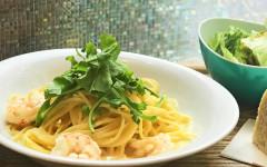 ●赤海老とルッコラのレモンクリームスパゲティ.jpg