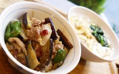 ●茄子と豚肉のピリ辛味噌炒めDON&うどん.jpg
