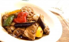 ●彩り野菜のバルサミコ酢豚DON2.jpg
