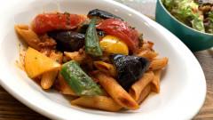 ●彩り夏野菜と牛挽き肉のスパイシートマトペンネ.jpg