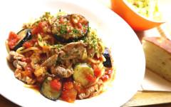 ●茄子と豚肉のトマトソーススパゲティ.jpg