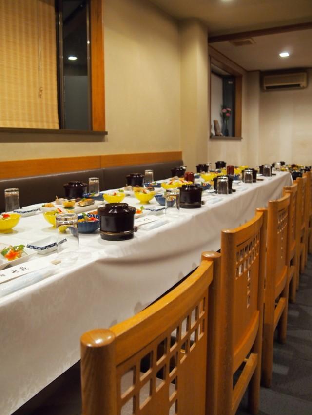 【お斎】七魚の店で法要後の食事会