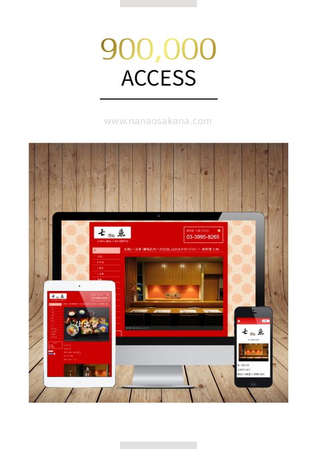 【ホームページ】90万アクセス達成!【感謝】