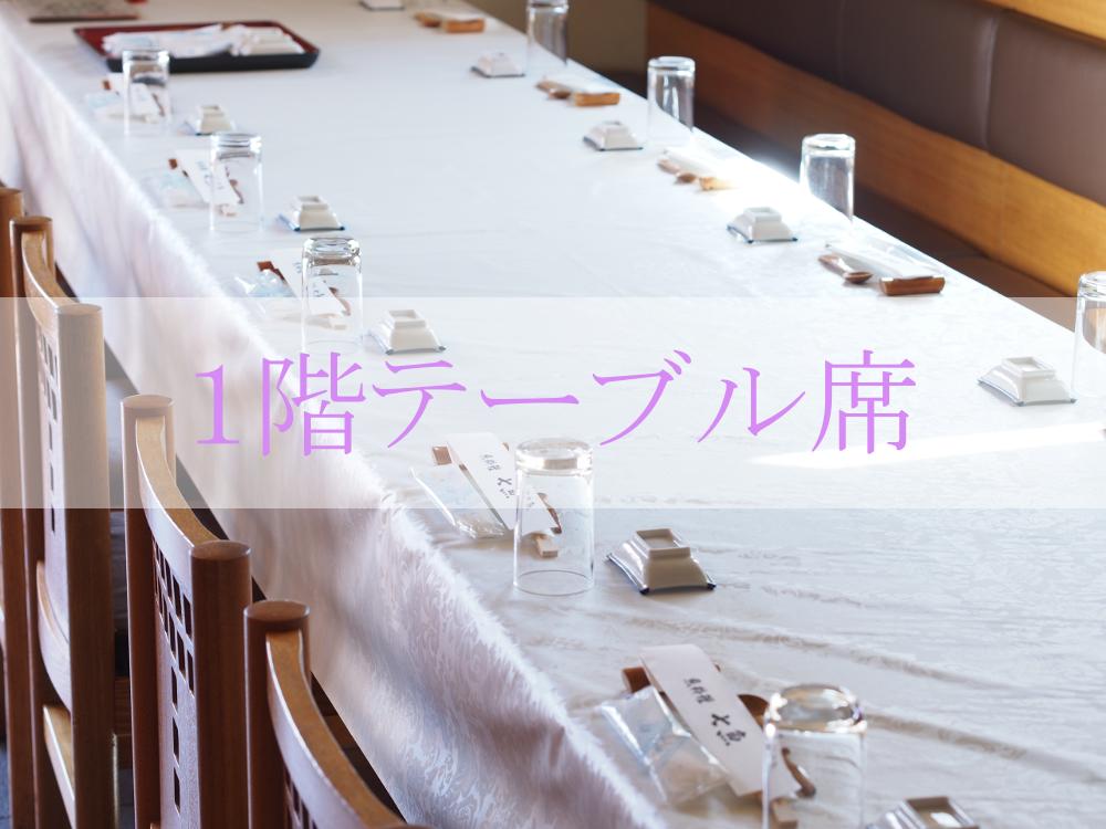 七魚で法事の食事会【施主様に選ばれています】