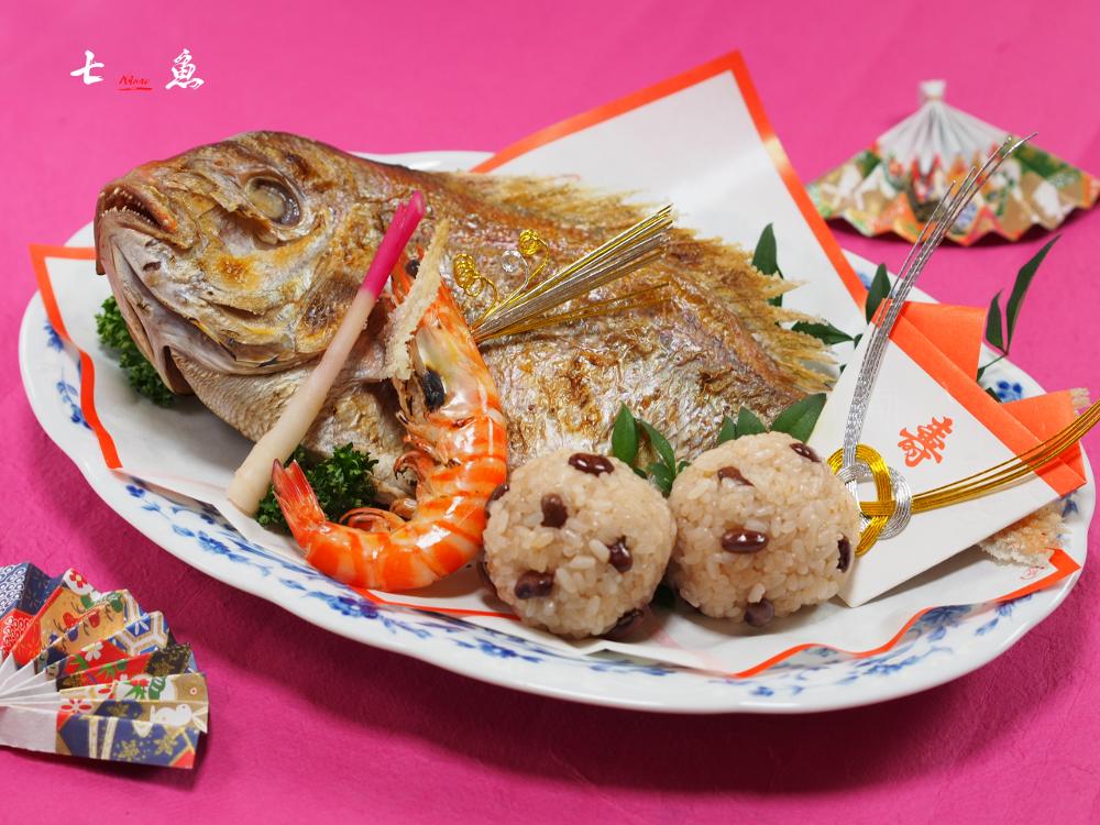 石神井公園に七五三のお祝い料理宅配