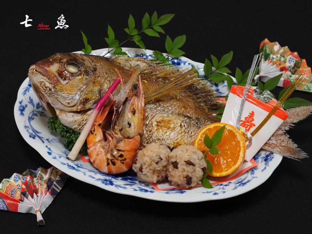 西東京市に仕出し料理の配達【祝鯛】