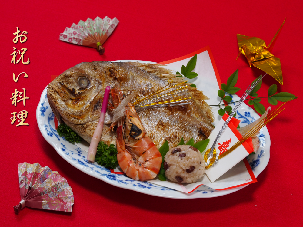 石神井台へお祝い料理の仕出し宅配