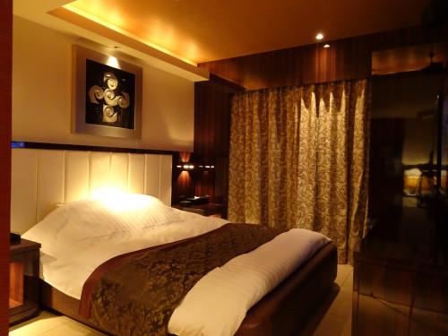 ホテル シャトーのおしゃれな露天風呂付き客室 8号室