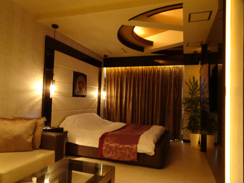 ホテル シャトーのおしゃれな露天風呂付き客室 5号室