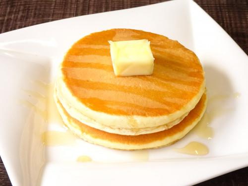 ホテル シャトーおすすめデザート「ホットケーキ」