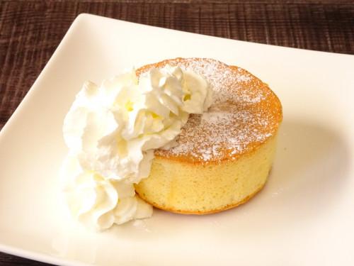 ホテル シャトーおすすめデザート「スフレパンケーキ」