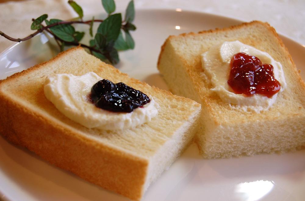 パンと一緒に