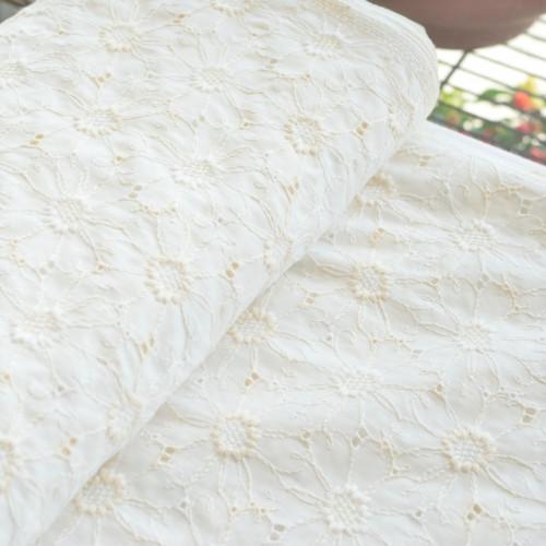 綿レース フラワー