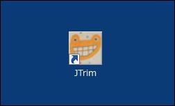 JTrimのショートカットアイコンの画像