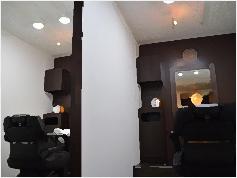 匠和 | 幡ヶ谷・初台メンズ専門美容室|和モダンをテーマに作られた内装