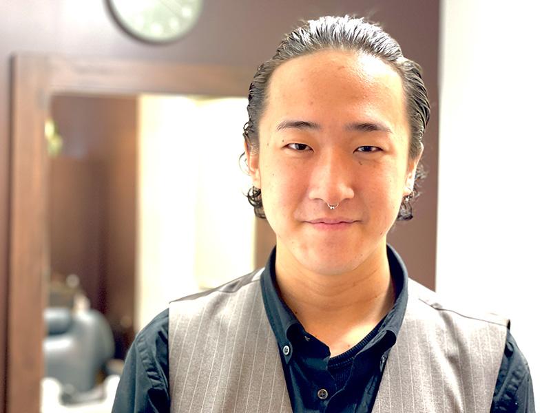 幡ヶ谷・初台メンズ専門美容室匠和スタイリスト:田村怜央那