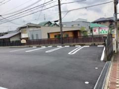 新しい駐車スペースの紹介写真