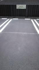 駐車スペースの拡大写真