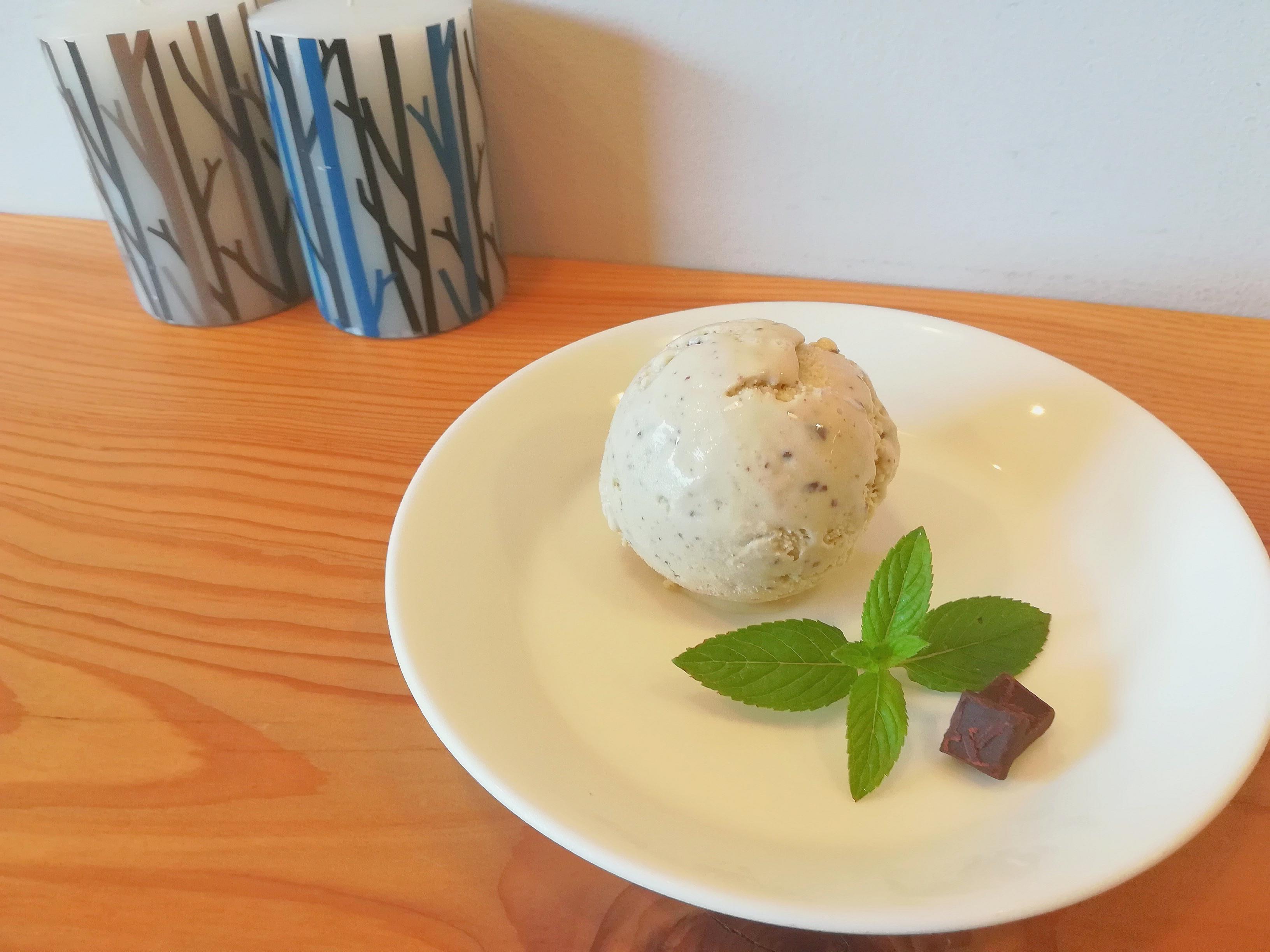 ミント レシピ チョコ アイス