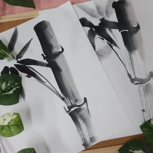 水墨画・水墨画曼荼羅体験版オープンします