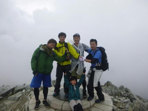 親しい友と立山登山
