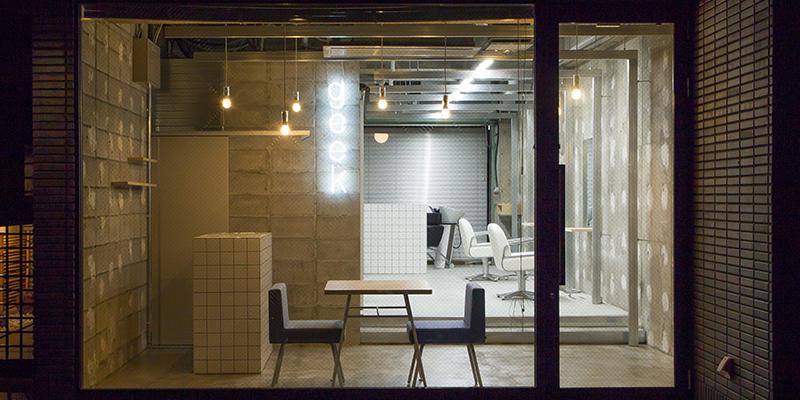 京都市河原町の美容院(美容室)| geek hair 店舗外観イメージ