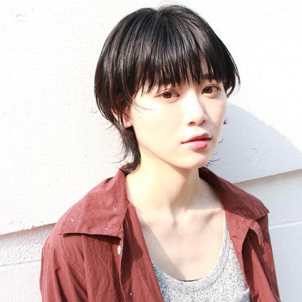 京都市河原町の美容院(美容室)『geek hair』スタイル | マッシュウルフショートスタイル