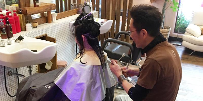 奈良市のカラーが人気で安い美容室 | VOW  イメージ