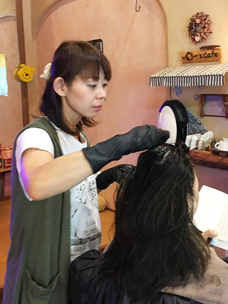 奈良市のカラーが安い美容室VOW スタイリスト 西海真希