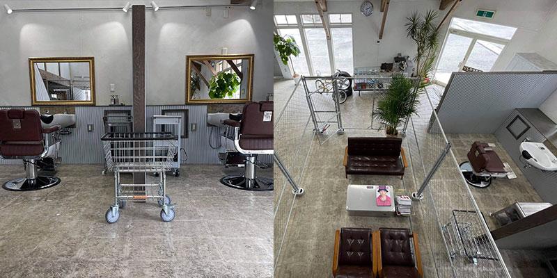 会津若松の美容室D-PATH(ディーパス) 半個室サロンイメージ