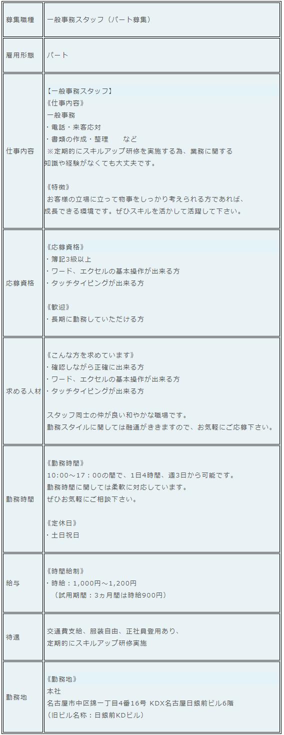 〈採用情報〉 - 株式会社KSビジネスコンサルティング - 一般事務スタッフ(パート募集).png