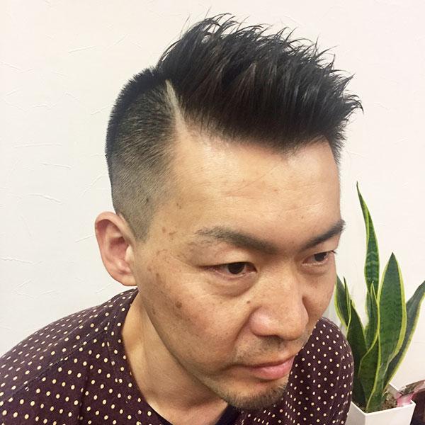 彦根市メンズ専門美容室 | dresshair | がっつりフェードスタイル