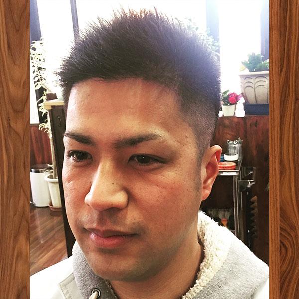 彦根市メンズ専門美容室 | dresshair | 定番ベリーショートスタイル