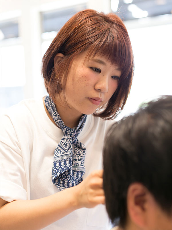 一宮市で人気の美容院 | seven+ 内田ともみ