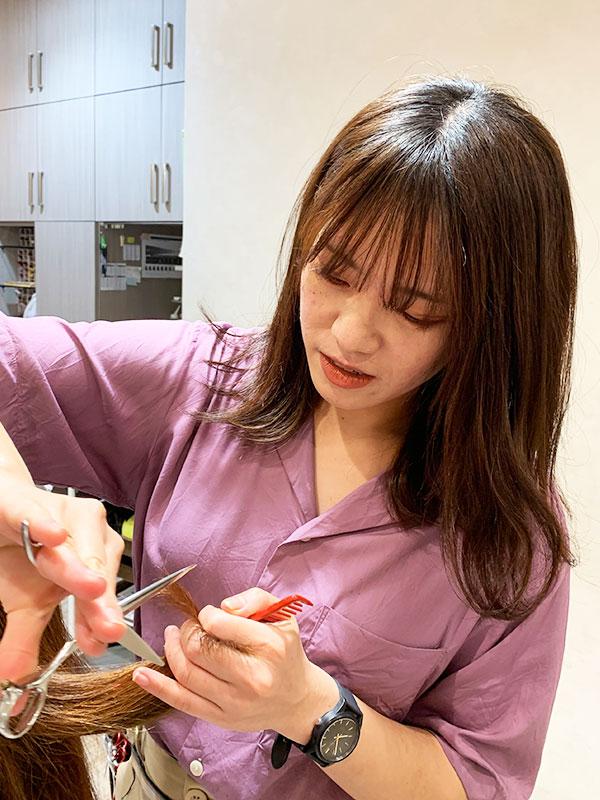 一宮市で人気の美容院 | seven+ 松永絵梨