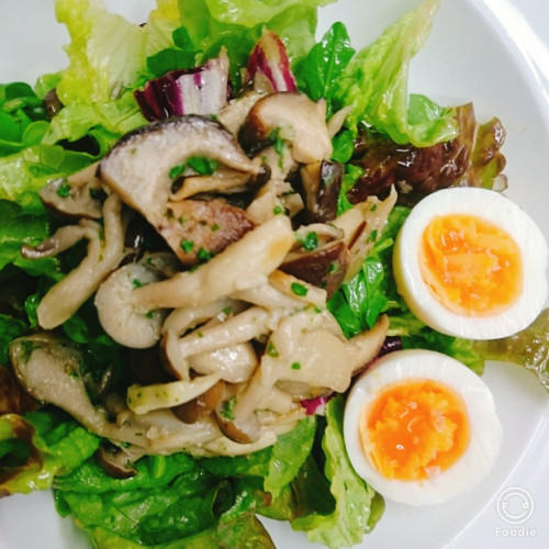茸のサラダ.jpg