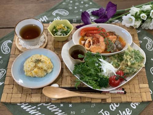 『ラシックの森』5月のマクロビ料理教室