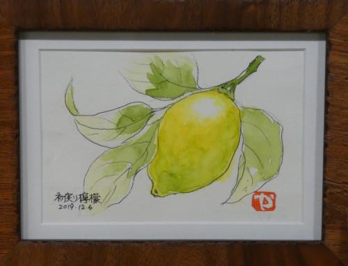 初実り檸檬 山川典雄.jpg