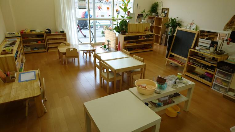 幼児教室は東大阪でモンテッソーリを取り入れる【こどものいえ のいちご】で