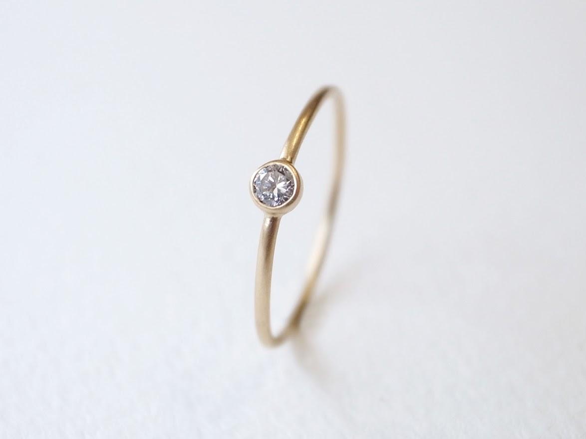 一粒ダイヤモンドリングのセミオーダーは【niruc】で