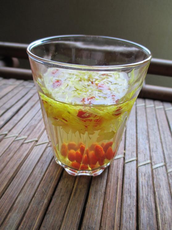 青森県 南部町産 干し菊 お茶