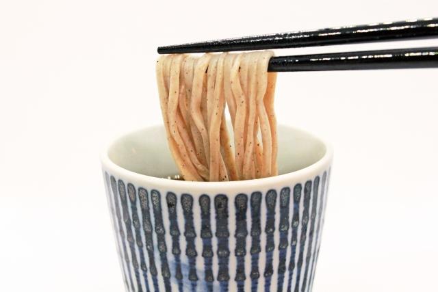 蕎麦の粋な食べ方